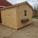 Chicken Coop With Metal Nest Boxes (1)