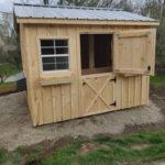 Chickenm Coop With Dutch Doors (1)