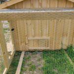 Enclosed Run On Chicken Coop