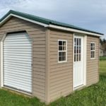 Gable Shed With Rollup Door