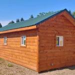 Log Cabin Back