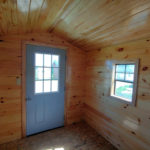Log cabin with Car Siding