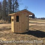 Octagon Gun Hunting Blind