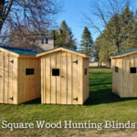 Square Wood Hunting Blinds