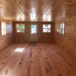 Inside Log Cabin for sale near Mt Pleasant MI.