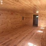 Inside Log Cabin for sale near Muskegon MI.